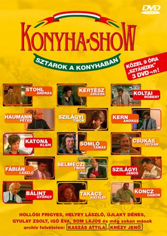"""A """"Konyhashow"""" plakátja"""